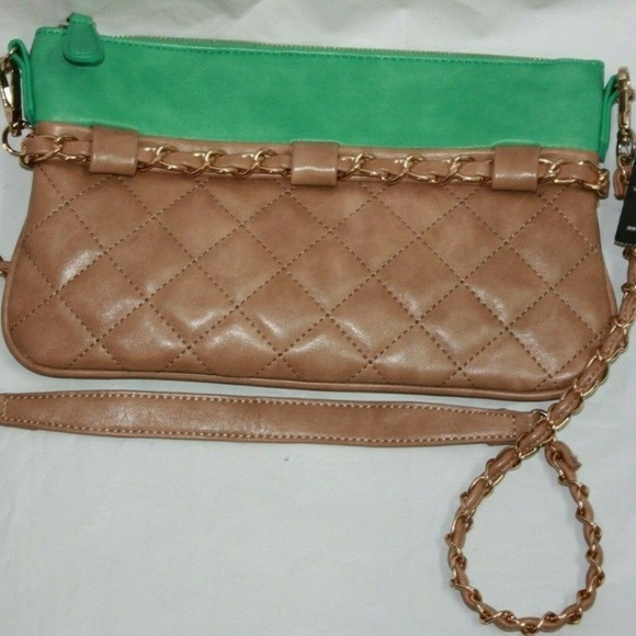 Urban Expressions Handbags - Urban Expressions Quilted Crossbody Purse Chain